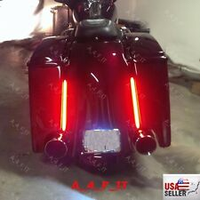 Harley Davidson Bagger Cargo Saddlebag Third Brake light Running light