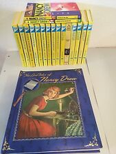 Lot of 18 Nancy Drew Mystery Books Lost Files Hardcover Paper VGUC