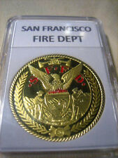 SAN FRANCISCO FIRE DEPT Challenge Coin