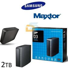 "HARD DISK ESTERNO 3,5"" 2TB SAMSUNG/MAXTOR HDD 2 TB USB 3.0 MAC OS / WINDOWS 10"