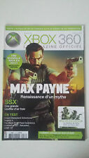 Magazine XBOX 360 N°76 - Janvier 2012 - MAX PAYNE 3 SSX METAL GEAR HD COLLECTION