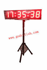 6 inch large led digital sports marathon countdown timer race timing clock