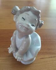 "NAO Porcelain by Lladro Tumbling Tots ""Sweet Pose"" #5062 New In Box"
