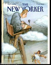 The New Yorker Magazine September 4 1995 The Last Judgment by Edward Sorel Exc.