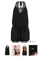 MARKS AND SPENCER ROSIE FOR AUTOGRAPH LACE TRIM PLAYSUIT SIZE 8