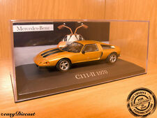 MERCEDES C-111-II C111-II 1970 METALLIC BROWN 1:43 MINT