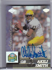 1999 EDGE ADVANTAGE #183 AKILI SMITH AUTO. ROOKIE RC BLUE INK OREGON 3/40