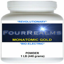MONATOMIC GOLD | WHITE POWDER GOLD | ORME | 448 Grams