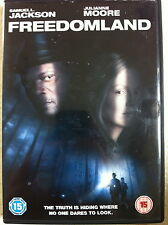 SAmuel L Jackson Julianne Moore FREEDOMLAND ~ 2006 Thriller | UK DVD
