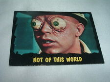 1964 Bubbles Inc, Outer Limits, #17 Not Of This World Card, Excellent Condition