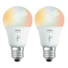 Sylvania Osram Lightify 60W A19 Daylight/ RGB Smart LED Light Bulb (2 Pack)