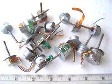Computer Floppy Drive Motors Small DC Motors lot of 18
