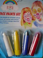 cosmetic face paints children adult face paint 4 PACK halloween fancy dress