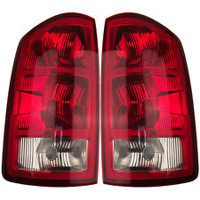 Pair Left & Right Tail Lights w/o Circuit Boards Fits 2002-2006 Dodge Ram Pickup