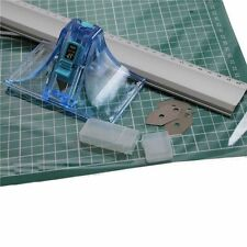 DAFA MOUNT BOARD CUTTER 45° 90° & 60cm STEEL RULER & A2 CUTTING MAT COMPLETE KIT