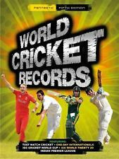 World Cricket Records 14, Hawkes, Chris