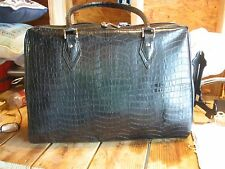 LAPTOP BAG MOBILE EDGE WOMEN BLACK NYLON & LEATHER LARGE TOTE SPECIAL EDITION
