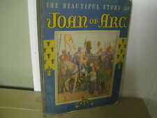 St. Joan of Arc/ Rare book/1933/Guillonnet/ Lowe/ martyr maid of France