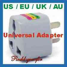 Universal UK/US/EU/AU to AU Australian Travel Power Adapter 3 prong pins