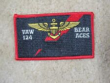 VAW 124 BEAR ACES US ARMY NAME TAG PATCH---009