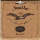 Aquila Nylgut Soprano Ukulele Strings Set AQ-4U Regular Tuning GCEA High G Italy