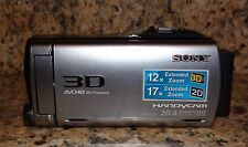 Sony HDR-TD20V 3D Handycam Digital HD video camera recorder F/S Rare