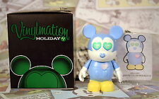 Disney Vinylmation Holiday 1  Message Hearts Chaser Mint With Box Foil Card