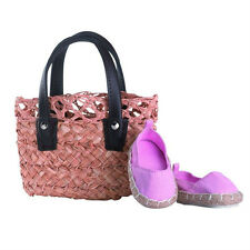 Gotz Hannah play doll Espadrilles and Bag 3401563 NEW