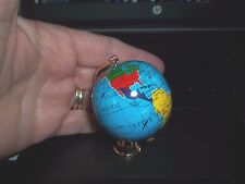 LARGE BRASS  GLOBE FOR YOUR  MINIATURE DESK OR FLOOR- DOLL HOUSE MINIATURE
