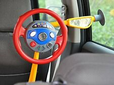 Children Electronic Backseat Driver Pretend Play Toy Steering Wheel Simulation