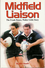 "Frank BUNCE & Walter LITTLE New Zealand RUGBY BOOK ""Midfield Liaison Bob Howitt"