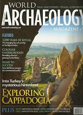 CURRENT WORLD ARCHAEOLOGY, JUNE  / JULY, 2013  ( DIGS* DISCOVERIES * TRAVEL * )