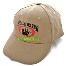 BLACKWATER PMC CAP DESERT SECURITY CONTRACTOR HAT (KHAKI) UK