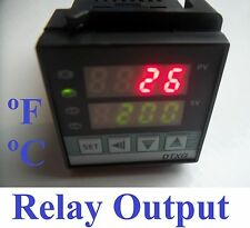 Fahrenheit Celsius Digital PID Temperature Controller Thermostat Relay output