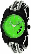 RARE Android Men's Hydraumatic AD430BKGR Chrono Green Dial Watch