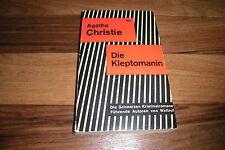 Agatha Christie -- die KLEPTOMANIN // Scherz Krimi mit Hercule Poirot von 1959