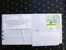 Brief mit Eckrandstück  Mi.nr. 2447 Post Briefzustellung in Deutschland (140610)