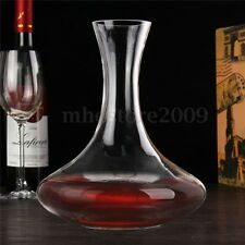 1800ml Elegant Crystal Glass Red Wine Pourer Decanter Carafe Aerator Lead-free