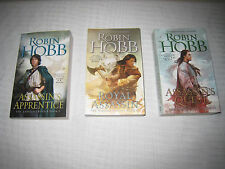 The Farseer Trilogy Novels by Robin Hobb (Books 1-3 in the Series) BRAND NEW