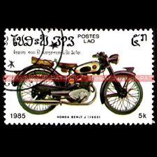 HONDA Benly J 1953 - LAO - LAOS Moto Timbre Image
