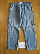destroyed levi feather 505 grunge jean tag 36x30 meas 34x29 14890F