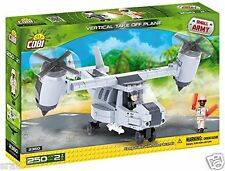 Small Army Vertical Take Off Plane - 250 Pieces Cobi construction blocks