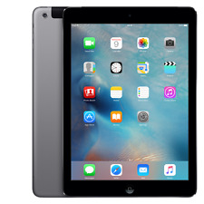 Apple iPad Air 16GB, Wi-Fi + 4G (Unlocked), 9.7in - Space Gray Very Good Co