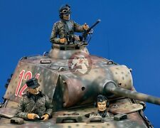 Verlinden 120mm (1/16) German Tank Crew WWII (3 Half-figures) [with PE] P-959