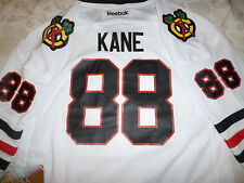 Chicago Blackhawks Patrick Kane Jersey WHITE kids youth boys L/XL Girls =medium