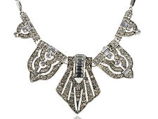 Egyptian Silver Tone Intricate Design Fashion New Necklace