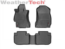 WeatherTech® DigitalFit FloorLiner - Subaru Forester - 2014-2016 - Black