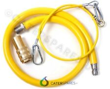 CATERHOSE COMMERCIAL CATERING YELLOW GAS HOSE FLEX 3/4 1.5 METER 1500MM