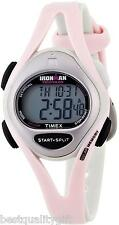 NEW-TIMEX IRONMAN PINK,GRAY DIGITAL INDIGLO+CHRONOGRAPH,50 LAP,WATCH T5D601+BOX