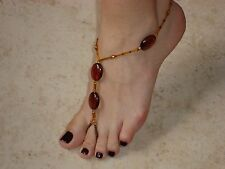 Barefoot Sandals - Foot Jewelry - Beach or Pool Sandals (1)